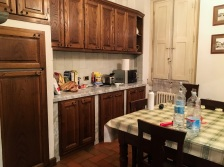 This is our kitchen. Very roomy!
