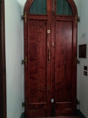 This is our heavy and ginormous front door!
